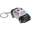 Police Car Key Chain Stress Reliever - City police car key chain shape stress reliever.