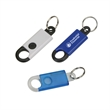 Button Activated Clip Keyring