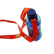 """Deluxe Water Bottle Holder - 3/4"""" wide x 18"""" long polyester lanyard with an extra strong rubber water bottle holder attachment."""