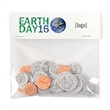 Earth Day Seed Coins Cello Pack