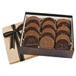 Cookie Gift Box with 18 Digital Round Cookies