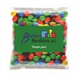 Business Card Magnet w/Small Bag of M&Ms