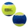 """Pet Tennis Ball - 2 1/2"""" diameter rubber and felt pet tennis ball."""