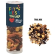 Healthy Snack Tube With Trail Mix (Small) - Healthy snack tube with 5 oz. of trail mix including raisins, peanuts, sunflower seeds, and more.