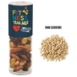 """Healthy Snack Tube With Raw Cashews (Small) - Healthy snack tube measuring 1.75"""" Diameter x 5.5""""H  with 4.4 oz. of raw cashews."""