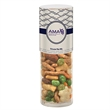 Healthy Snack Tube With Oriental Nut Mix (Small) - Healthy snack tube with 2.7 oz. of Oriental nut mix including sesame sticks, rice crackers, green peas, and more.