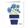 Greeting Card with Seed Paper Shape: Easy Way Stock