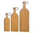 Bamboo Cutting Board, Wine Bottle Shape