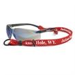 """5/8"""" Custom Convertible Neck Lanyard/Eyewear Holder - Custom combination lanyard / eyewear holder fits most eyeglass frame sizes,"""
