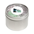 Life Savers® in Sm Round Window Tin - Lifesavers® packed inside a small round window tin with customization options.