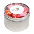 Starburst® in Lg Round Window Tin - Starburst® packed inside a large round window tin with customization options.