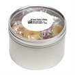 Life Savers® in Lg Round Window Tin - Lifesavers® packed inside a large round window tin with customization options.