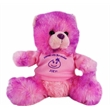 """8"""" Berry Bear with shirt and one color imprint"""