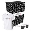 Gildan (R) T-Shirt And Sunglasses Combo Set With Custom Box