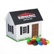 House Paper Bank with Mini Bag of M&Ms
