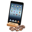Hard Maple Tablet Stand with English Butter Toffee