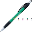 React Stylus Grip Pen - Retractable ballpoint pen with stylus and grip.