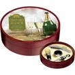 Tuscany Wine Set - Wood wine set. Give this wine set for your next annual meeting or party.