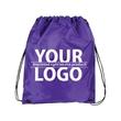 Super Saver Nylon drawstring bag with Reinforced Corner