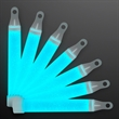 """4"""" Turquoise Mid-Size Glow Sticks with Lanyard"""