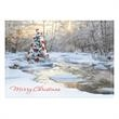 Tranquil Tree Holiday Greeting Card - Tranquil Tree Holiday Greeting Card