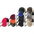 Sportsman (TM) Contrast Stitch Mesh Cap - Contrast stitch mesh cap with low profile. Blank.