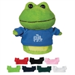 """4"""" Mini Plush Buddies Frog - 4"""" Mini Plush Buddies Frog These Cuddly Plush Buddies Are A Great Way To Show Your Logo And Get Your Message Across"""