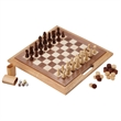 Classics 3-in-1 Wood Game / Chess-Checkers-Backgammon