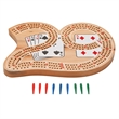 "Wooden ""29"" Cribbage Board - Cribbage board."