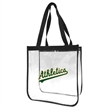 Clear Open PVC Stadium Tote Bag - Clear Open PVC Stadium Tote Bag