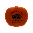 """Pumpkin Strobe - 2 1/8"""" x 2"""" x 5/8"""" safety clip, with pumpkin design and LED strobe for safety"""