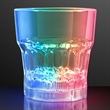 Light-up drinking glass - whiskey glass