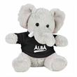 """6"""" Elephant Plush Animal with Shirt"""