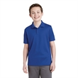 Sport-Tek Youth PosiCharge RacerMesh Polo. - Sport-Tek Youth PosiCharge RacerMesh Polo.