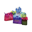 Frosted Colors Shopping Bag w/ Soft Loop Handle - Frosted high density plastic bag with soft loop handles