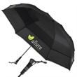 "The Essential Auto open Compact Umbrella - Auto open golf compact umbrella with luxurious rubber grip handle, 60"" arc."