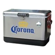 Metal Chest Cooler - Stainless Steel Cooler with Cart