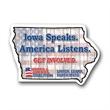 Iowa State Magnet - Iowa State Magnet
