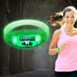 Sound Activated Green LED Stretchy Bangle Bracelet