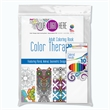Color Therapy Adult Coloring Book with Colored Pencils