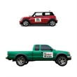 """16""""x22"""" Rectangle Car and Truck Magnet/ 30 Mil - Rectangle magnet measuring 16 x 22 inches and 30 Mil thick"""