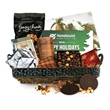 Gift basket - Gift basket includes 1 lb custom Belgian chocolate bar and so much more.