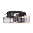 The Man Bag - Travel bag with men's grooming products.