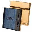 Casablanca™ Journal & Executive Stylus Pen Set - Journal and ballpoint pen/stylus gift set.