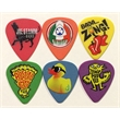 GrippX Standard Shape Guitar Pick Matte Colors FULL COLOR - Matte finish standard shape guitar pick.