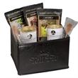 Boca Java® Gift Setf - Coffee, hot chocolate, sugar sticks, and a folding bin together in one gift set.