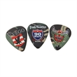 Celluloid Standard Shape Camo Guitar Pick Matte Color - Matte finish camouflage color standard shape guitar pick.