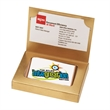 Full Color Cookie Business Card Box