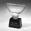 Crowned Golf Trophy 10 1/4""