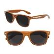 "Iconic Dark ""Wood"" Grain Sunglasses"